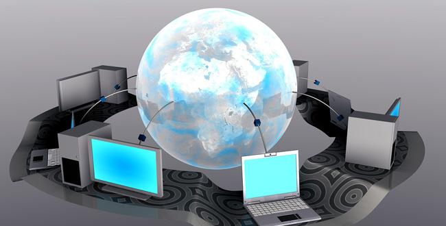 webサイトがブラウザに表示される仕組みのイメージ画像