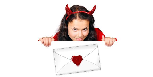 「迷惑メールを通報して大人の対応」のイメージ画像